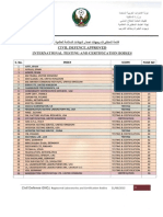 ADCD - Approved Labs and Certifications