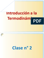 1 INTRODUCCION Termodinamica Clase2