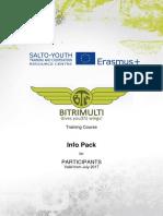 BTM Infopack for Participants 2017