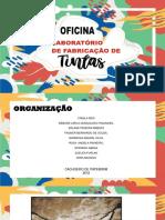 Apresentação - Oficina de Fabricação de Tintas