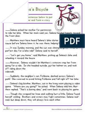 story-sequencing-selena-bicycle (1) pdf