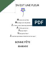 Fête Des Mamans (Comptine)