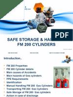 FM200 Cylinder Handling Training