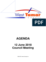 West Tamar Council June Meeting