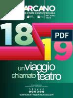Stagione 2018/2019 Teatro Carcano Milano