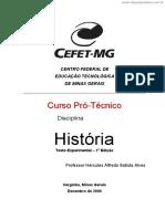 [Cliqueapostilas.com.Br] Historia