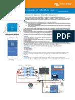 Datasheet 12,8 & 25,6 Volt Lithium Iron Phosphate Batteries Smart FR
