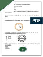Circulo e Comprimento Da Circunferencia