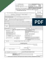 convocation form