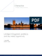 United Kingdom Politics and the Online Opportunity