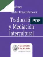 Master Traduccion Mediacion Intercultural 2014-2015