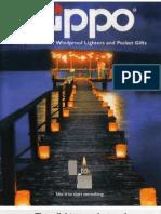 1999 Zippo Catalog