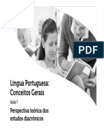Língua Portuguesa e Conceitos Gerais