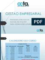 Gestão Empresarial - Aula 01