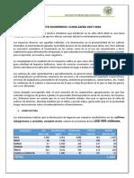 Impacto Cambio Climatico Zafra 2017-2018