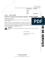 BS 43_15 - BC7800 e BC8800 - Tabela de Manuteno Do Manual Do Operador