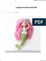 Free Crochet Amigurumi Mermaid Doll Pattern