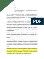 Unidade 1 - Introducao Aos Estudos Da Traducao