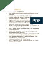 Bras de Simon Bolivar