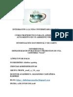 Informe Final Estrategias de publicidad y promoción para una cafetería