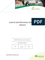 Plan de Gestion Social Forestal Arauco Sep2017