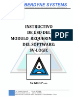 Manual de Modulo Requerimientos