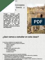 Clase 4 Conceptos Políticos de Grecia y Roma