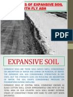 Properties of Expansive Soil With Fly Ash Major 1