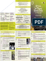 Joe Mooney 2018 Programme