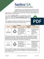 Plastic Identification Codes PlasticsSA Jul2012