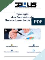 Tipologia dos Escritórios de Projeto
