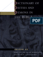 Toorn_Becking_Van Der Horst_eds_Dictionary of Deities and Demons in the Bible_BRILL_1999