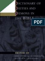 Toorn_Becking_Van Der Horst_eds_Dictionary of Deities and Demons in the Bible_BRILL_1999