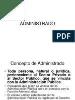 1. Derecho Administrativo.