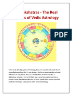 Nakshatras - The Real Secrets of Vedic Astrology