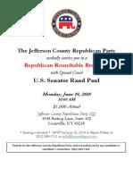 JCRP Roundtable Sen. Paul 2018