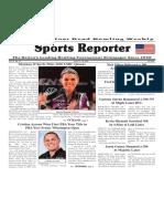 June 13 - 19, 2018  Sports Reporter