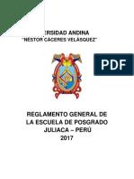 Reglamento General de La EPG