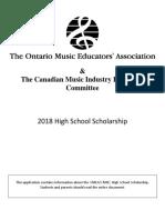 Application High School 2017 (Scholarship)