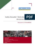Les jeunes Marseillais et le départ de Marseille, une enquête IFOP pour La Marseillaise