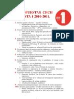Lista 1 CECH Resumen de Propuestas