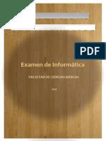Examen de Informatica de 2017