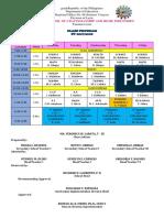 Blank class program template