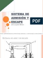 Sistema de Admisión y Escape