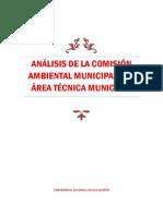 Análisis de La Comisión Ambiental Municipal