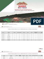 Caracterización de Los Corredores a Nivel Nacional Barrio Nuevo Barrio Tricolor