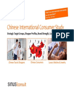 Chinese Shopping Tourists Study Summary Download