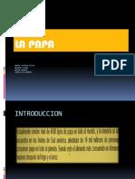 Presentacion - Estudio economico de la papa en Bolivia