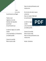 Poesias a La Primaveera