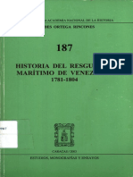 Historia del Resguardo Marítimo de Venezuela